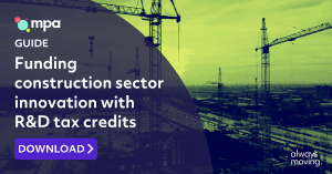Funding construction sector innovation with R&D tax credits